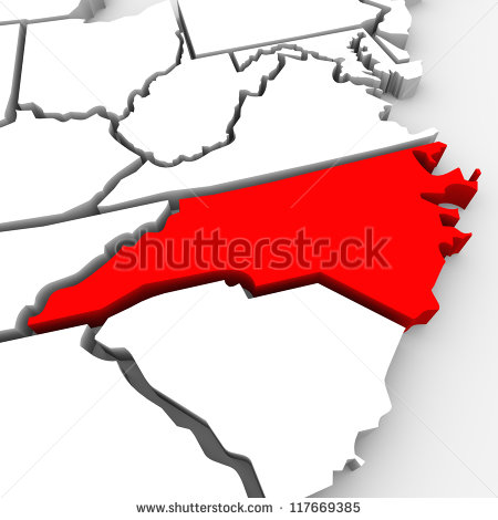 stock-photo-a-red-abstract-state-map-of-north-carolina-a-d-render-symbolizing-targeting-the-state-to-find-its-117669385